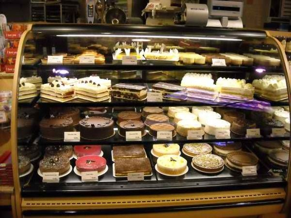 Bakery Display Cases by Jonathan Amory, via Behance