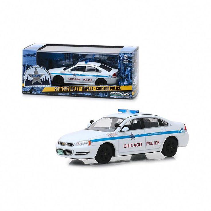 2010 chevrolet impala chicago police 143 diecast model