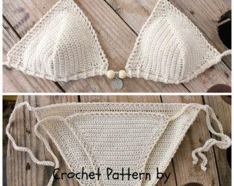 PDF Crochet PATTERN for Capheira Crochet Bikini by CapitanaUncino
