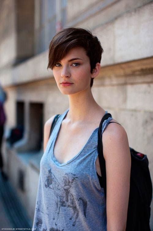 Top 100 Short Hairstyles With Bangs   #shorthairstyles #HairstylesWithBangs