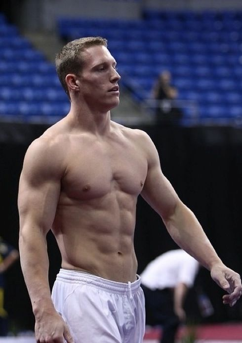 Steven Legendre, USA gymnast. Can you even imagine waking up next to this? DAMN!