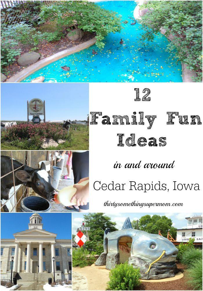 Family Fun in and Around Cedar Rapids Iowa area- ThirtySomethingSuperMom