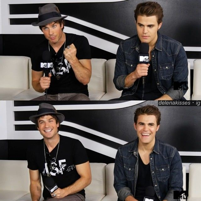 They are WAY TOO CUTE!  I love these two! And omg Ian's eyes were like, glowing, during the interview. And he has a tan, he looks so gorgeous!   Paul's smile>>>>> life!  #Padgram