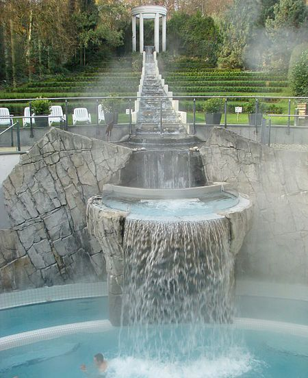 Thermal Waterfall Spa, Aachen, Germany: Buckets Lists, Aachen Germany, Fountain, Waterfalls Spa, Thermal Waterfalls, Spas, Places, Photo, Waterf Spa