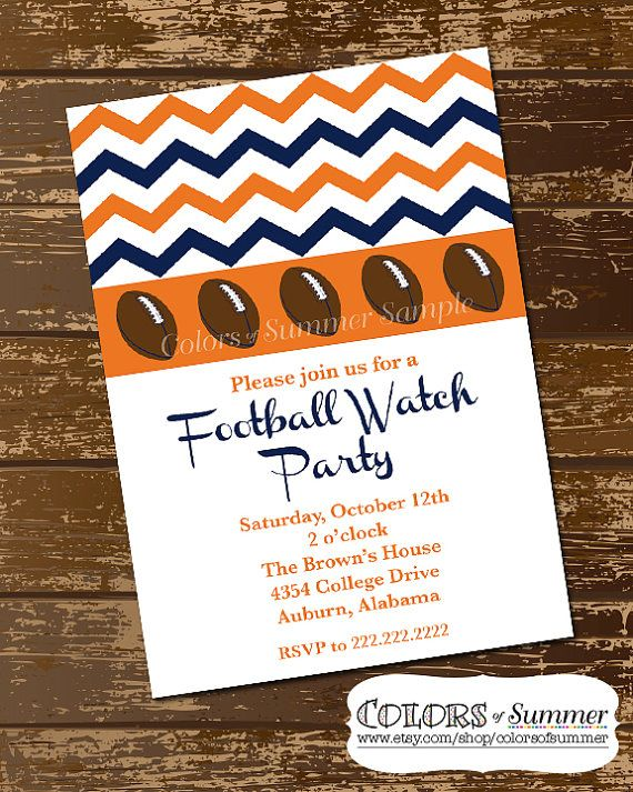 25 best ideas about Football invitations – Football Party Invitation Wording