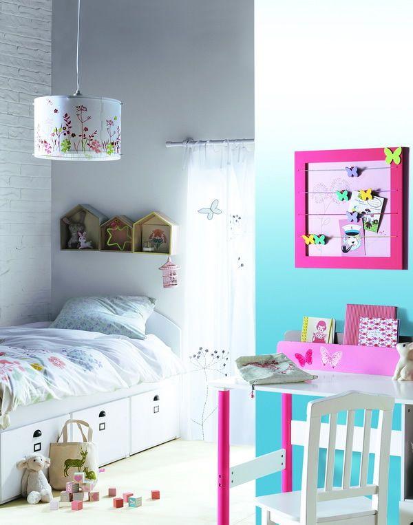 L mparas de techo para dormitorios infantiles aqua - Ideas para dormitorios infantiles ...