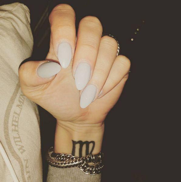unique Women Tattoo - small Virgo sign tattoo #zodiac #ink #youqueen #girly #tattoos #Virgo YouQueen M...