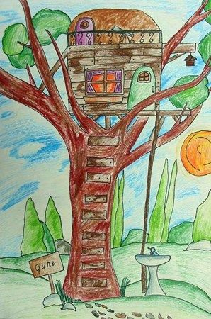 tree house What would your favorite tree house look like? 3-5/6 grade