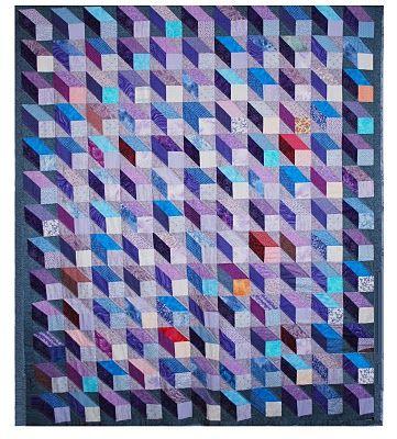 """Quiltworks by Sue Pedersen: Machine pieced quilting 80 x 68"""""""