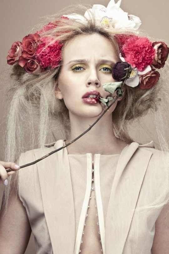 Khube Magazine | Elina and Polina | Pauline Darley | Behance
