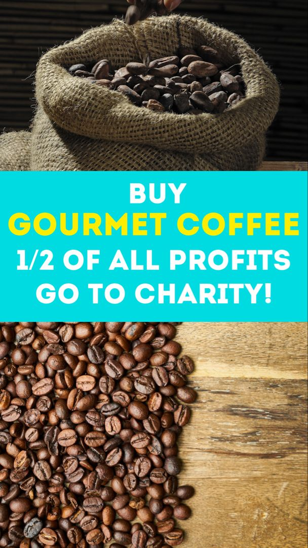 Buy Gourmet Coffee 1 2 Of All Profits To Charity In 2020 Gourmet Coffee Coffee Bean Candle Coffee Bean Decor