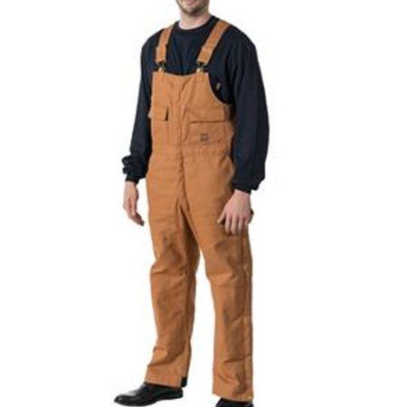 Walls 93053PC9 Men's Brown Cotton Duck Insulated Bib Overalls - Walmart.com