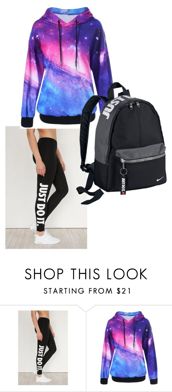 """""""Untitled #41"""" by moriartylauren on Polyvore featuring NIKE"""