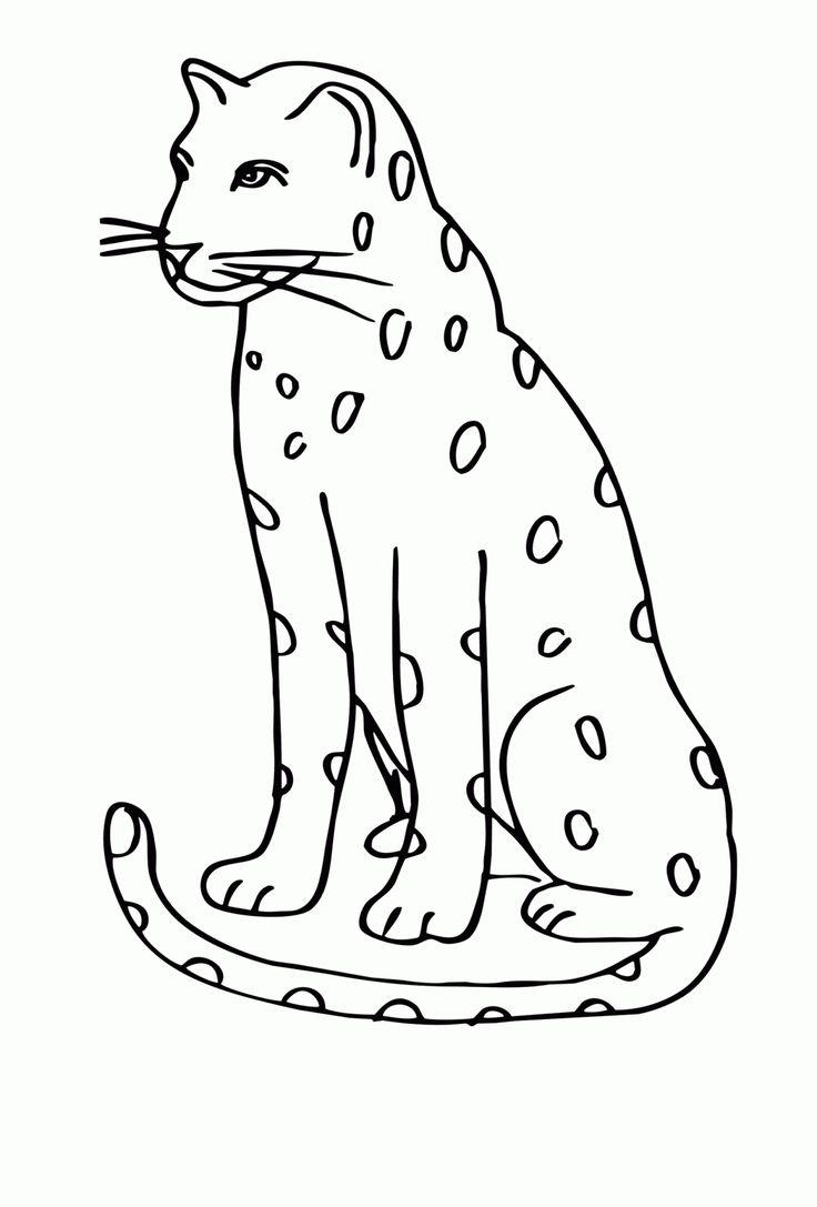 Oben Leopard Malvorlage Das Hilft, Den Fokus Zu Behalten in 30