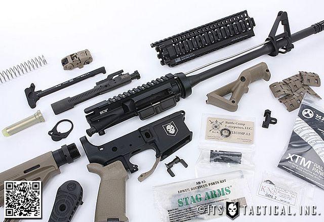 DIY AR-15 Build 04 by ITS Tactical, via Flickr