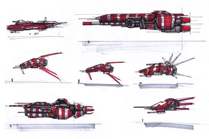 spacecrafts_20071022 by MacRebisz on DeviantArt