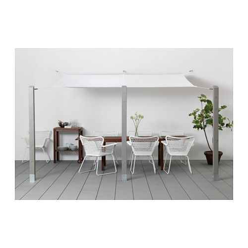 Dyning canopy ikea that is just what i 39 m thinking of for the french doors next year perfect - Dyning sonnensegel ...
