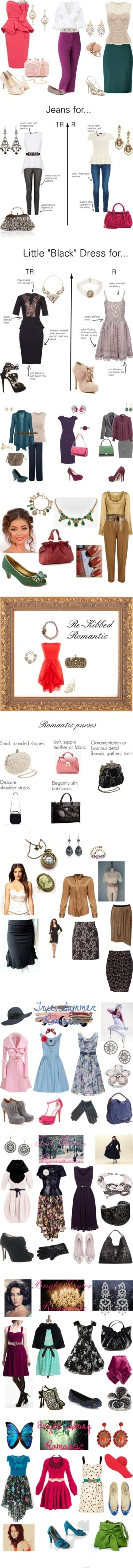 """Romantic body type: ""Lushly Feminine."""" by in-vero-pulcritudo ❤ liked on Polyvore"