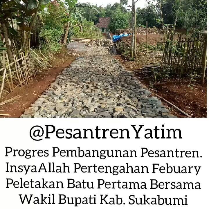 Alhamdulillah Berkat Doa dan Dukungan Sahabat Semua Rencana Pembangunan Pondok @PesantrenYatim bisa Terealisasi. .  Ini adalah Laporan Kami Kepada Donatur Semuanya.. . Mari Berinvestasi untuk kehidupan akherat kita dan memberikan kontribusi untuk #Indonesia Lebih Baik .  Donasi Bisa  Melalui Rekening BNI Syariah a.n Yayasan @CintaDakwahID  048-071-4971  Informasi Lebih Lengkap Hub. kami di 081380409009 .  Follow Ya Sahabat @PesantrenYatim  @PesantrenYatim  @PesantrenYatim  .  Bantu Sebarkan…