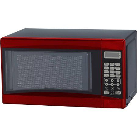 Microwave Oven 0.7 cu ft Digital In Red 700W *** Be sure to check out this awesome product.