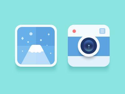 iOS 7のホーム画面に置きたいフラットアイコン - #RyoAnnaBlog