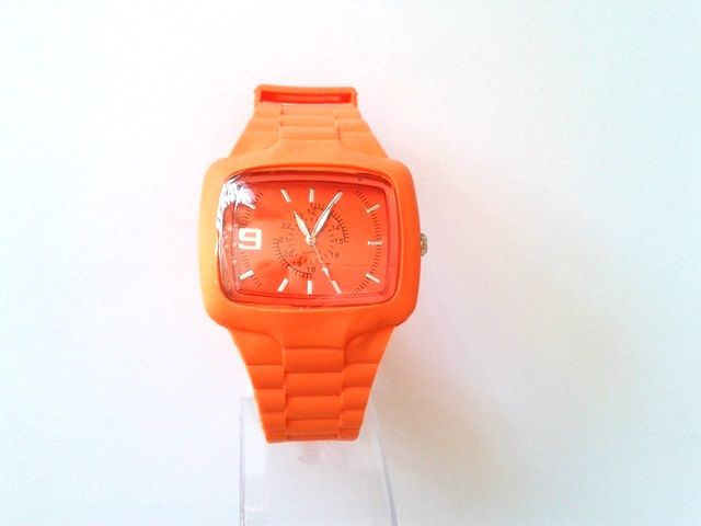 City Time narancssárga karóra