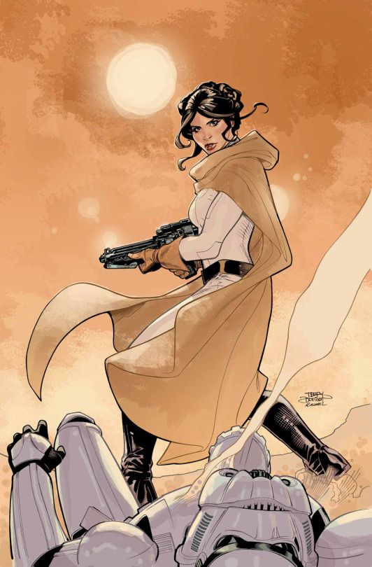 Princess Leia #5 cover by Terry Dodson