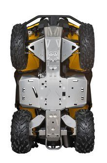 Can Am ATV Complete Skid Plate Protection Kit - SKID PLATES