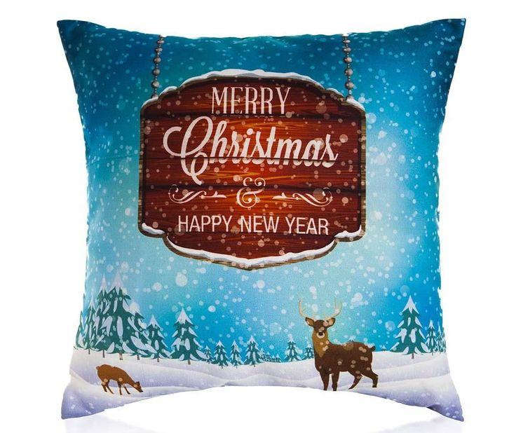 Christmas Greeting Párnahuzat 45x45 cm - Vivre