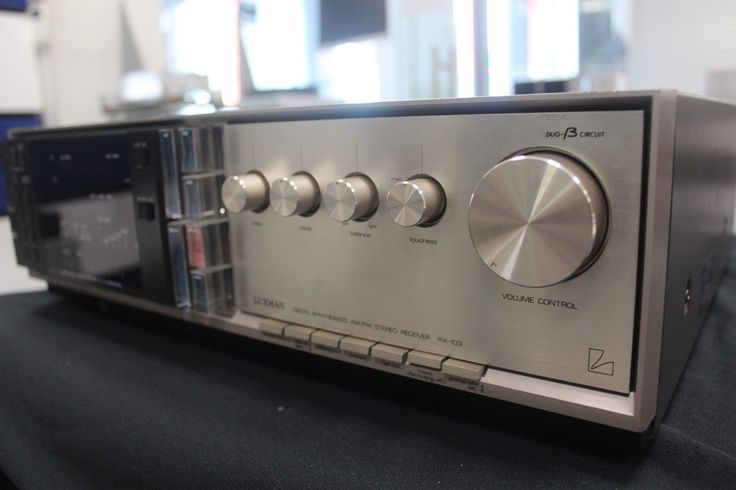 Luxman RX-103 stereo integrated amplifier, 110V version in excellent used cond | eBay