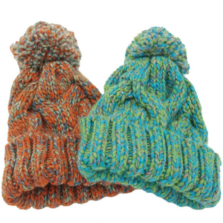 5.84$ (More info here: http://www.daitingtoday.com/winter-beanies-for-women-knitted-acrylic-hats-mix-colors-skullies-and-beanies-knit-big-pompom-caps-free-shipping-female-beanie ) Winter Beanies For Women Knitted Acrylic Hats Mix Colors Skullies And Beanies Knit Big Pompom Caps Free Shipping Female Beanie for just 5.84$
