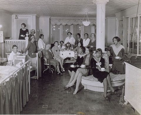 Madame CJ Walker's Hair salon..I Love Black History Month
