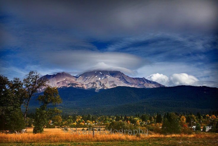 Mt Shasta.... prints available here:http://bit.ly/Vdu3ip