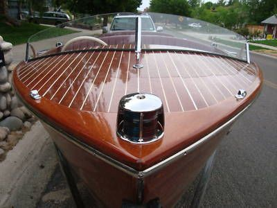 1952 17′ Chris Craft – Classic Water Ski Boat