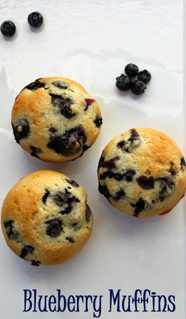 recipe: homemade blueberry muffins from scratch [36]