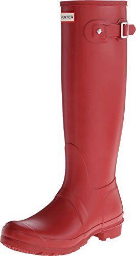 90cb7c740e90 Hunter Women s Original Tall Red Rain Boots - 10 B(M) US Blackfriday  Thanksgiving sale USA