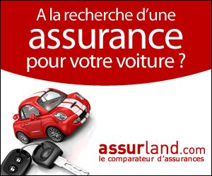 Auto : Voiture rouge 2 bandes blanches