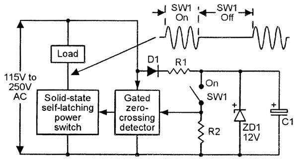 Triac Principles And Circuits  U2014 Part 1