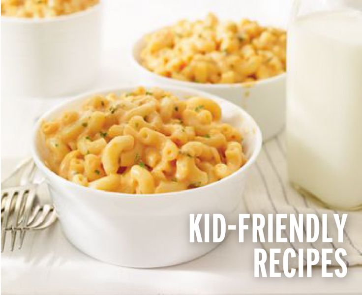Try our kid-friendly recipes like Tasty Tomato Mac  Cheese!