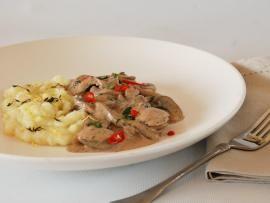 Μανιτάρια Stroganoff - το γρήγορο πιάτο των γαλλικών bistrot   TasteFULL