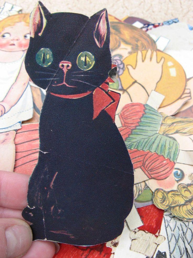 vintage paper doll accesories