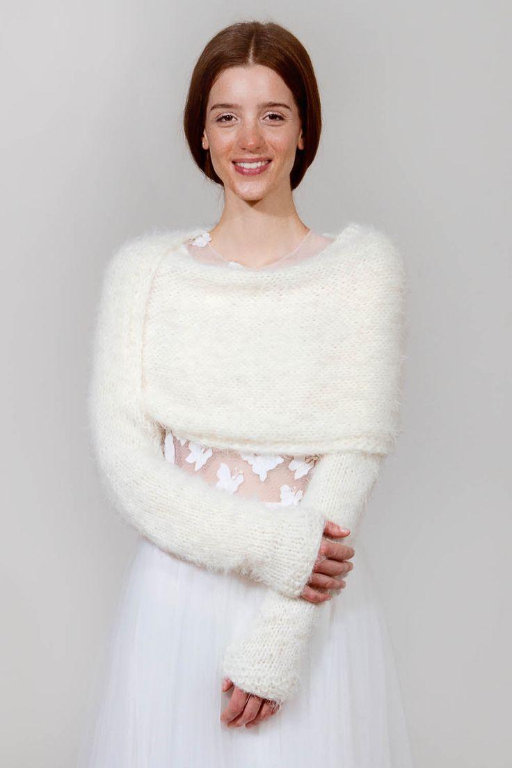 Sonderkollektion Frieda Therés | marryandbride - knitted couture - feine gestrickte Brautjacken