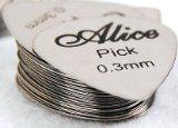 #Strumentimusicali #8: Alice - 6 plettri metallici per chitarra