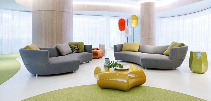 Roche bobois digital large round 3 seat sofa designed for Catalogue canape roche bobois