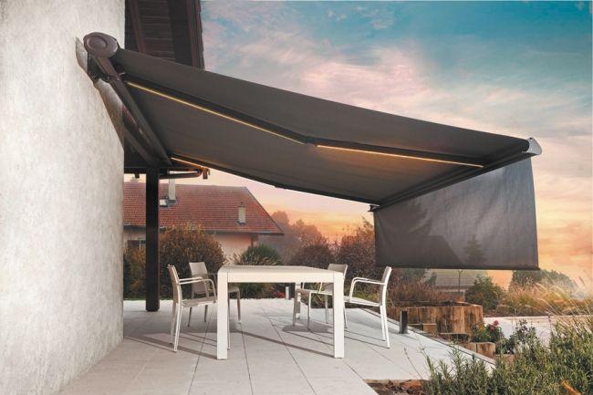 Un store motorisé pour profitez de votre terrasse sans contraintes