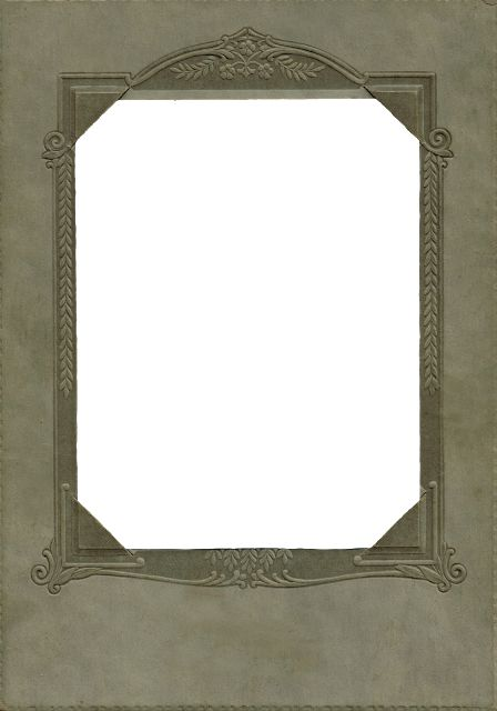 Printable Antique Photo Frame ~ Knick of Time