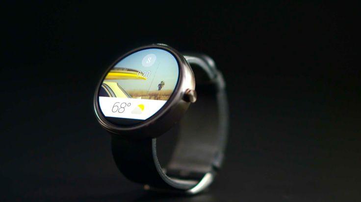 Moto 360: chytré hodinky, systém Android Wear