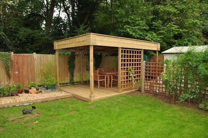 les 25 meilleures idees de la categorie abri jardin toit With maison bois toit plat 18 le top des abris de jardin 45 idees design archzine fr