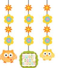 "Happi Tree Hanging Cutouts (includes 3 hanging decorations that can hang for up to 36"" long)"
