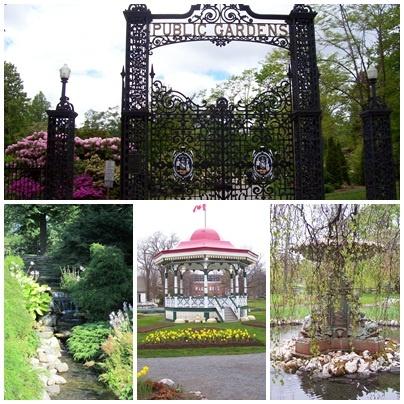 Public Gardens, Halifax Nova Scotia